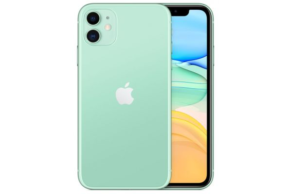 Large image of Apple 256GB Green iPhone 11 Cellular Phone - MH8X3LL/A & 6843C