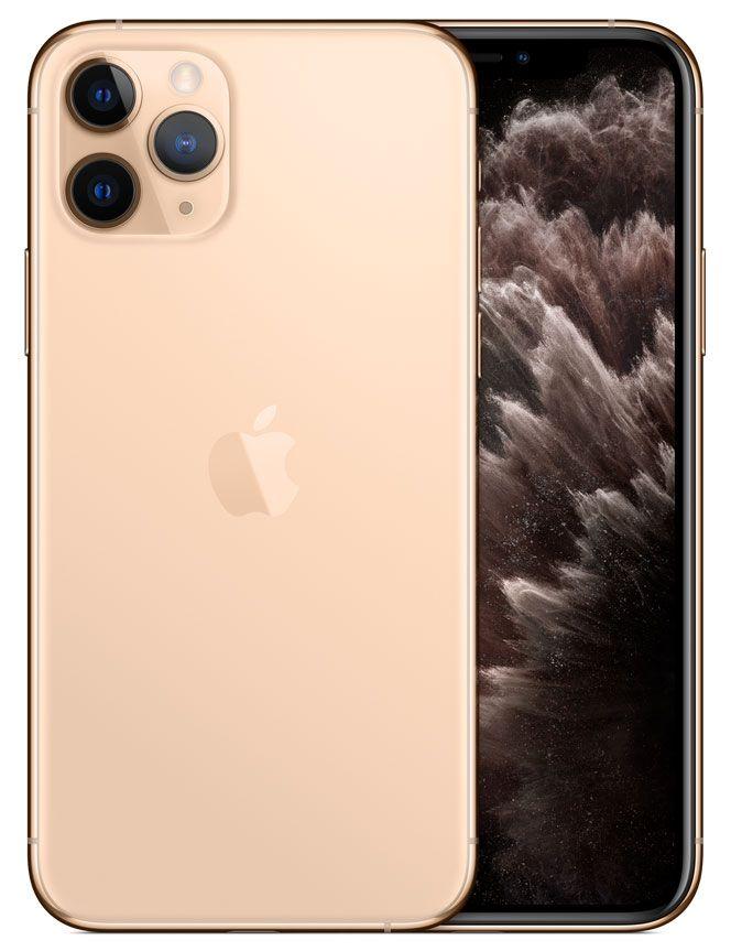 Apple 64gb Gold Iphone 11 Pro Cellular Phone