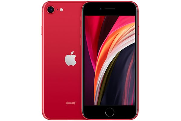 Large image of Apple 128GB (PRODUCT)RED iPhone SE Cellular Phone - 6822C