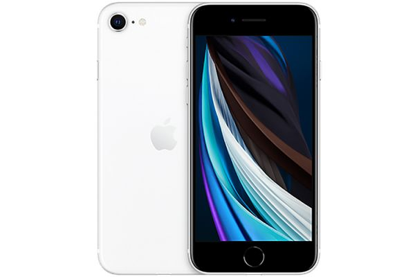 Large image of Apple 64GB White iPhone SE Cellular Phone - MHF93LL/A & 6818C