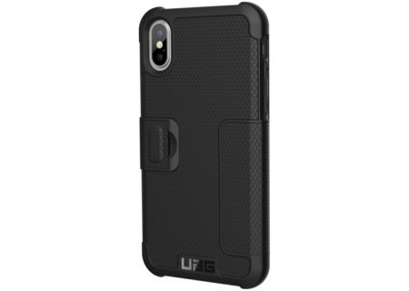 Urban Armor Gear Black Metropolis Series iPhone X Case - IPHX-E-BL