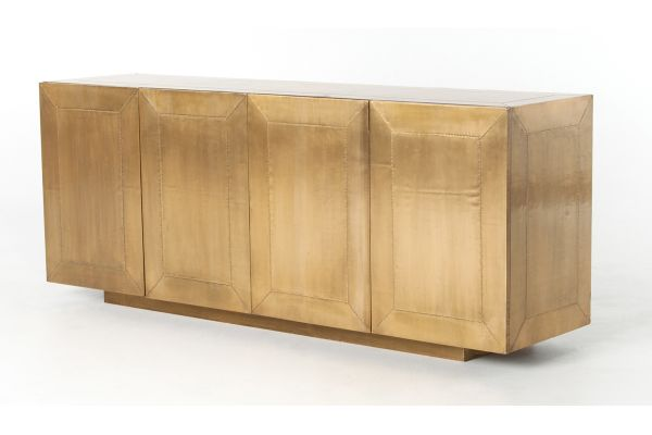 Large image of Four Hands Aged Brass Freda Sideboard - IRCK-160