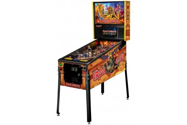 Large image of Stern Pinball Iron Maiden: Legacy Of The Beast Premium Edition Pinball Machine - IRONMAIDENPREMIUM