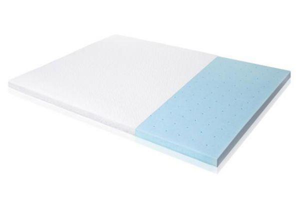 """Large image of Malouf Isolus Queen 2.5"""" Gel Memory Foam Mattress Topper - IS25QQ45GT"""