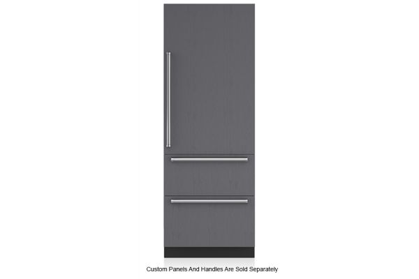 "Sub-Zero 30"" Panel Ready Tall Refrigerator And Bottom Freezer With Icemaker - IT-30CI-RH"