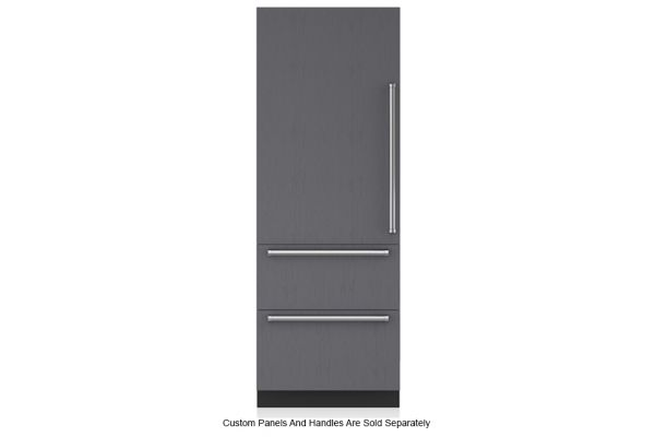 "Large image of Sub-Zero 30"" Panel Ready Left-Hinge Designer Over-And-Under Refrigerator - IT-30R-LH"