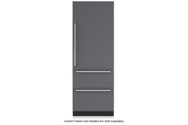 "Large image of Sub-Zero 30"" Panel Ready Right-Hinge Designer Over-And-Under Refrigerator - IT-30R-RH"