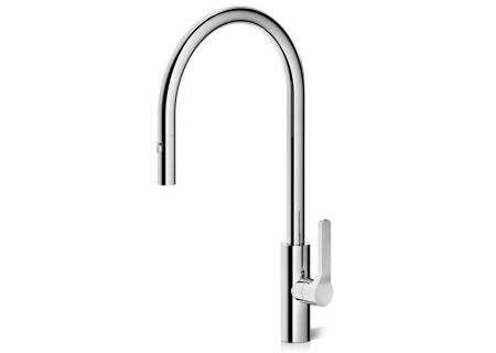 The Galley Tap Polished Stainless Steel Pull-Down Kitchen Faucet - IWT D PSS