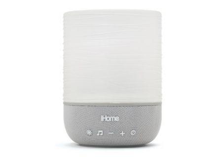 iHome Zenergy Grey Meditative Light & Sound Therapy Candle - IZM100GFT