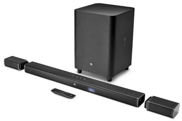 JBL Bar 5.1-Channel 4K Ultra HD Soundbar & Wireless Surrond Speakers - JBLBAR51BLKAM