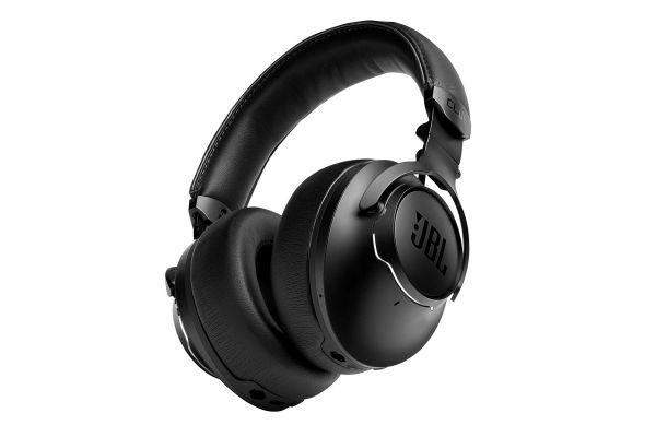 Large image of JBL CLUB ONE Black Wireless Over-Ear True Adaptive Noise Cancelling Headphones - JBLCLUBONEBLKAM