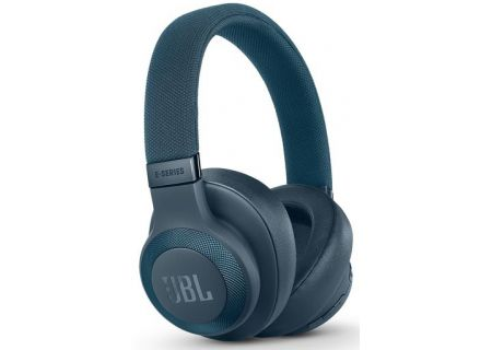 JBL E65BTNC Blue Wireless Over-Ear NC Headphones - JBLE65BTNCBLUE