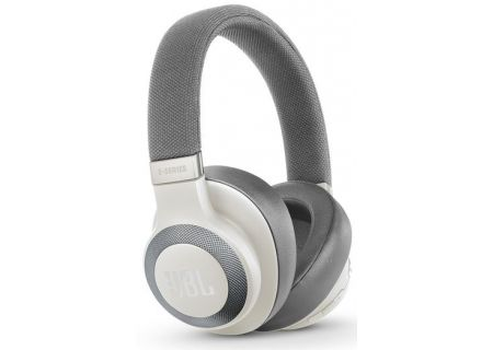 JBL E65BTNC White Wireless Over-Ear NC Headphones - JBLE65BTNCWHT