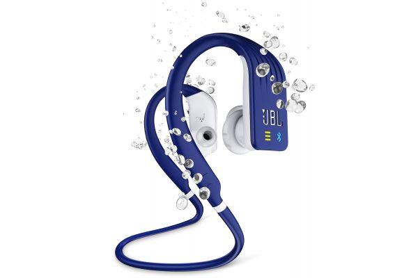 Large image of JBL Endurance DIVE Blue Wireless In-Ear Sport Headphones - JBLENDURDIVEUAM