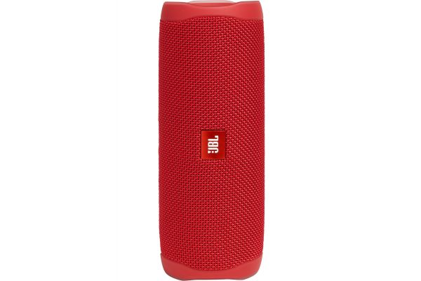 Large image of JBL Flip 5 Fiesta Red Wireless Portable Waterproof Speaker - JBLFLIP5REDAM