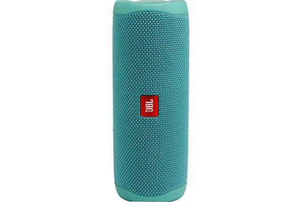 Large image of JBL Flip 5 River Teal Wireless Portable Waterproof Speaker - JBLFLIP5TEALAM