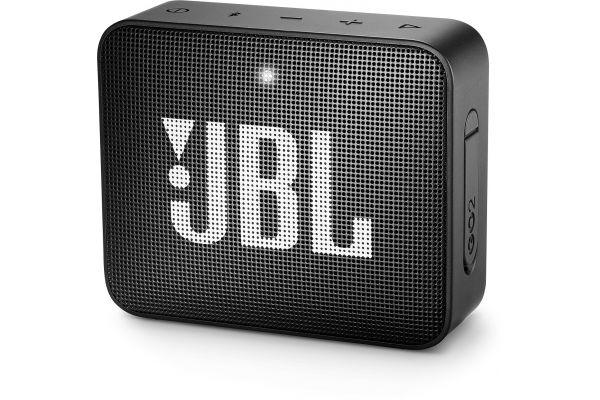 JBL GO 2 Midnight Black Portable Bluetooth Speaker - JBLGO2BLKAM