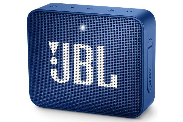 JBL GO 2 Deep Sea Blue Portable Bluetooth Speaker - JBLGO2BLUAM