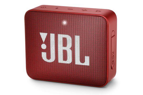 JBL GO 2 Red Portable Bluetooth Speaker - JBLGO2REDAM