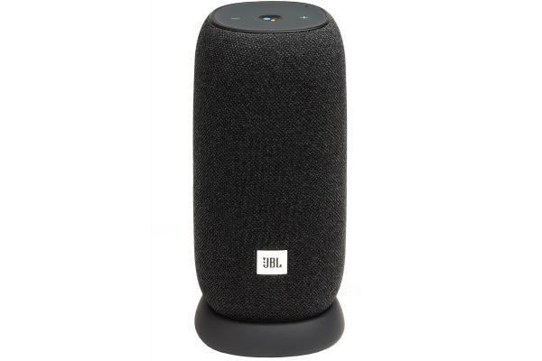 Large image of JBL Link Portable Black Smart Speaker - JBLLINKPORBLKAM