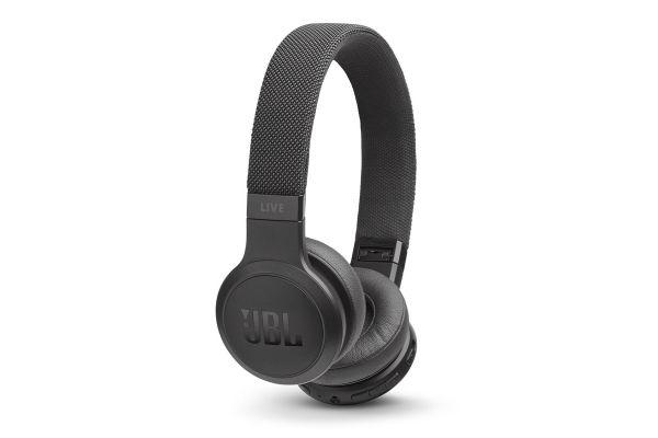 Large image of JBL LIVE 400BT Black Wireless On-Ear Headphones - JBLLIVE400BTBLKAM