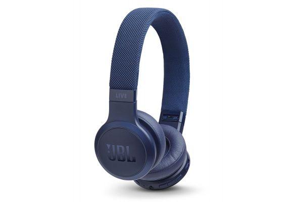Large image of JBL LIVE 400BT Blue Wireless On-Ear Headphones - JBLLIVE400BTBLUAM