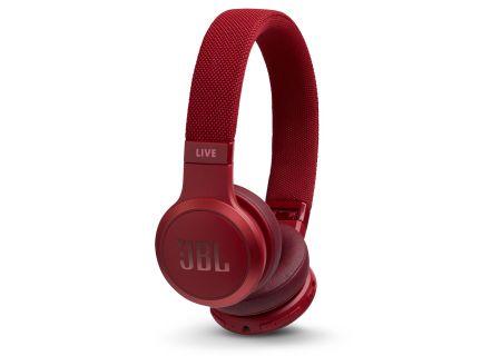 JBL LIVE 400BT Red Wireless On-Ear Headphones - JBLLIVE400BTREDAM