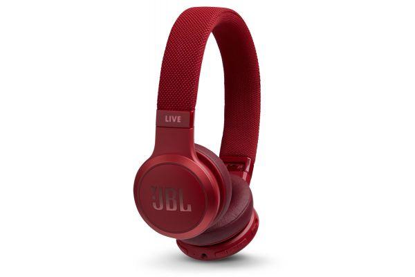 Large image of JBL LIVE 400BT Red Wireless On-Ear Headphones - JBLLIVE400BTREDAM