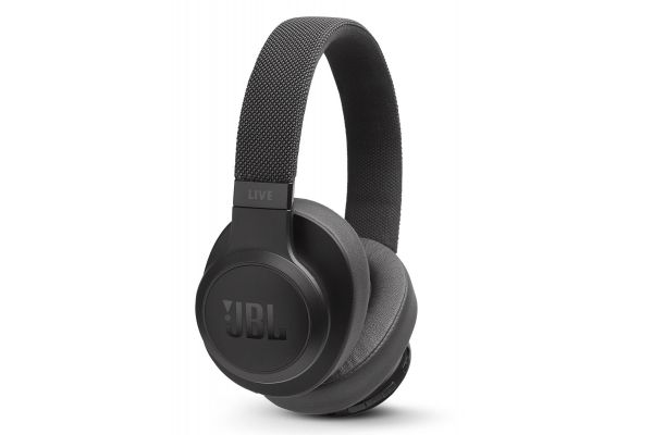 JBL LIVE 500BT Black Wireless Over-Ear Headphones - JBLLIVE500BTBLKAM