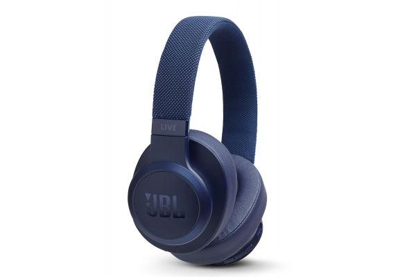 JBL LIVE 500BT Blue Wireless Over-Ear Headphones - JBLLIVE500BTBLUAM