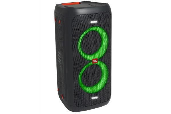 Large image of JBL PartyBox 100 Black Portable Bluetooth Speaker - JBLPARTYBOX100AM