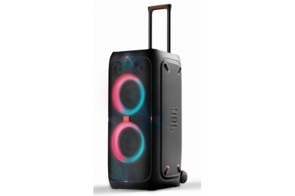 Large image of JBL PartyBox 310 Black Portable Party Speaker With Dazzling Lights And Powerful JBL Pro Sound - JBLPARTYBOX310AM