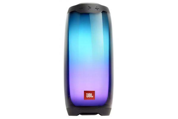 Large image of JBL Pulse 4 Black Portable Bluetooth Speaker - JBLPULSE4BLKAM