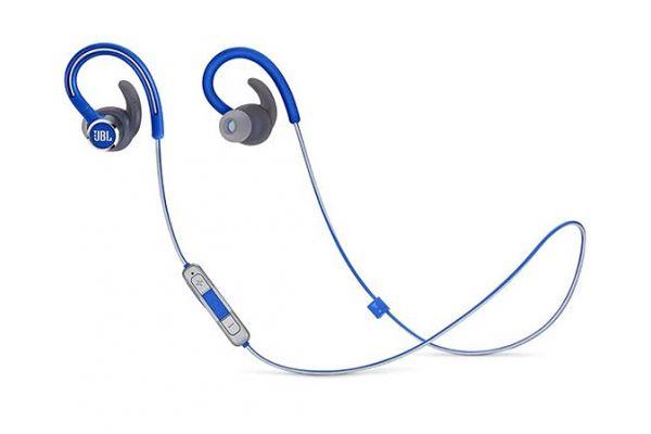 JBL Reflect Contour 2 Blue Wireless Sport In-Ear Headphones - JBLREFCONTOUR2UAM