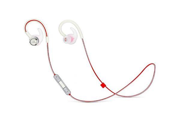 Large image of JBL Reflect Contour 2 White Wireless Sport In-Ear Headphones - JBLREFCONTOUR2WAM