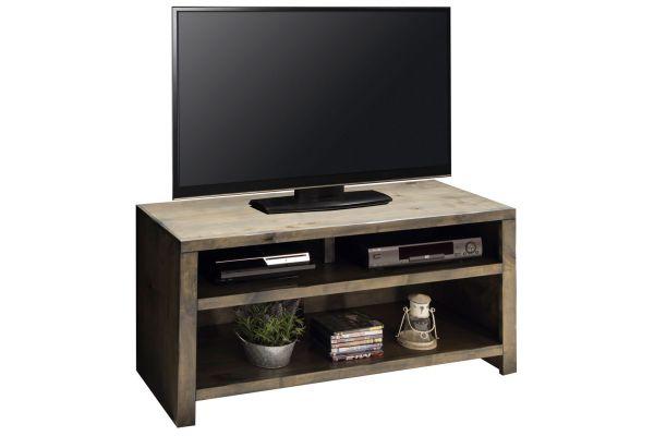 "Large image of Legends Furniture 48"" Barnwood Joshua Creek TV Console - JC1208-BNW"
