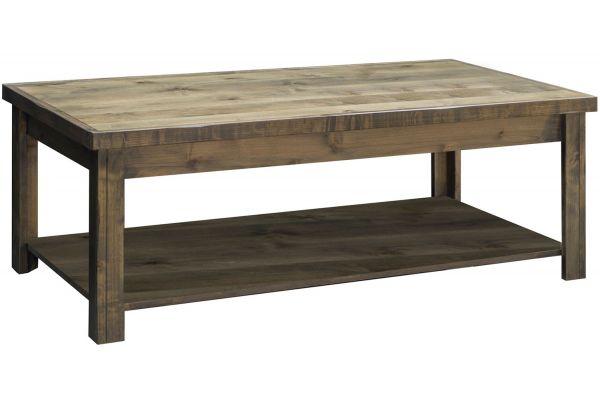 Large image of Legends Furniture Joshua Creek Coffee Table - JC4210-BNW