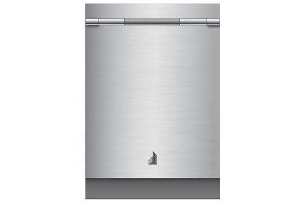 "Large image of JennAir RISE 24"" TriFecta Stainless Steel Dishwasher - JDTSS246GL"