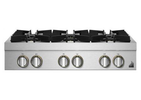 "JennAir RISE 36"" Stainless Steel Gas Rangetop - JGCP436HL"
