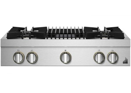 "Jenn-Air RISE 36"" Stainless Steel Gas Rangetop - JGCP636HL"