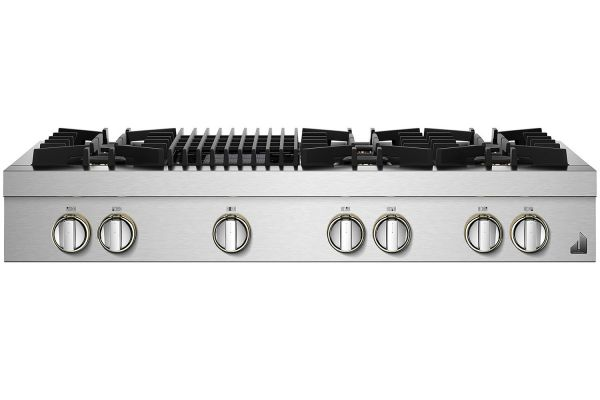 "Jenn-Air RISE 48"" Stainless Steel Gas Rangetop - JGCP648HL"