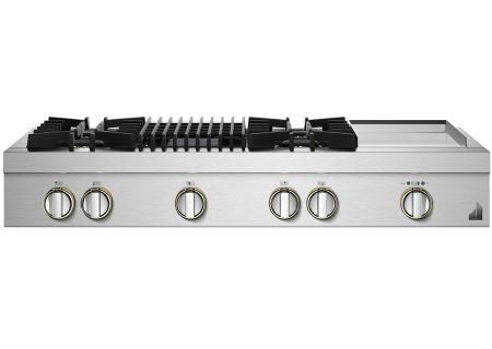 "Jenn-Air RISE 48"" Stainless Steel Gas Rangetop - JGCP748HL"