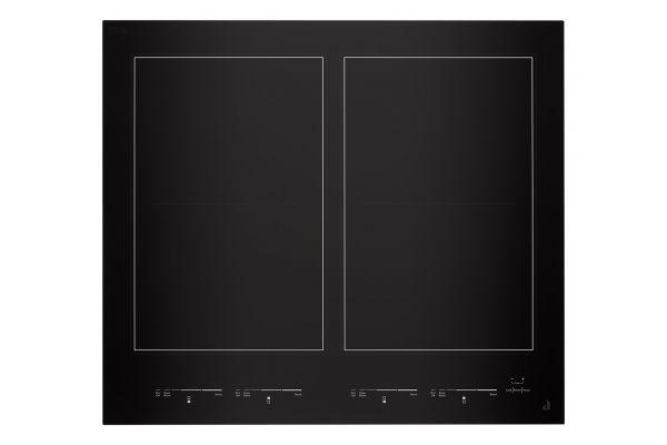 "Large image of JennAir Oblivian Glass 24"" Black Induction Flex Cooktop - JIC4724HB"