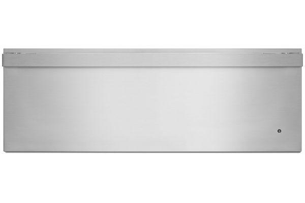 """Large image of JennAir NOIR 30"""" Stainless Steel Warming Drawer - JJD3030IM"""