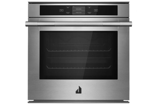 "Large image of JennAir RISE 24"" Stainless Steel Built-In Convection Oven - JJW2424HL"