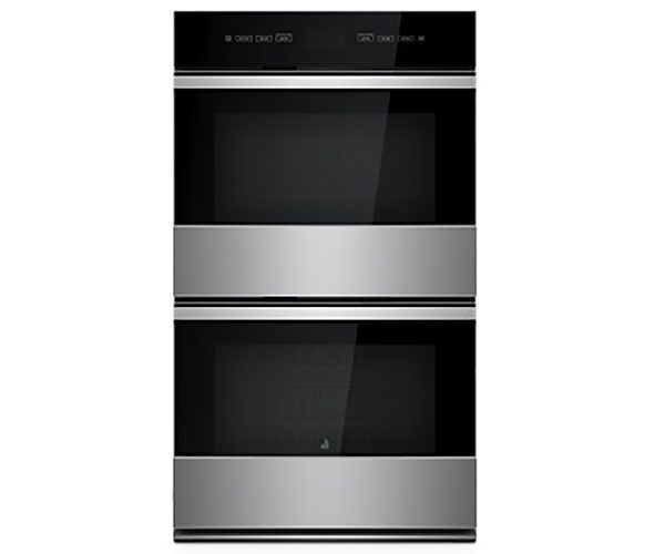 Jenn Air Noir 30 Stainless Steel Double Wall Oven With Multimode Convection System
