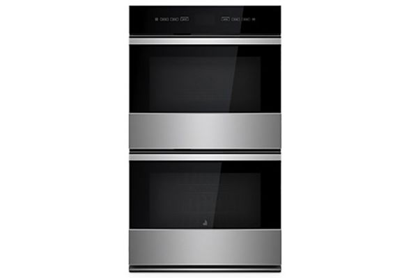 "JennAir NOIR 30"" Stainless Steel Double Wall Oven With MultiMode Convection System - JJW2830IM"