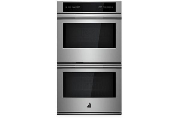 """JennAir RISE 30"""" Stainless Steel Double Wall Oven With V2 Vertical Dual-Fan Convection - JJW3830IL"""