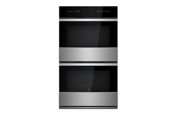 Jenn Air Noir 27 Stainless Steel Double Wall Oven