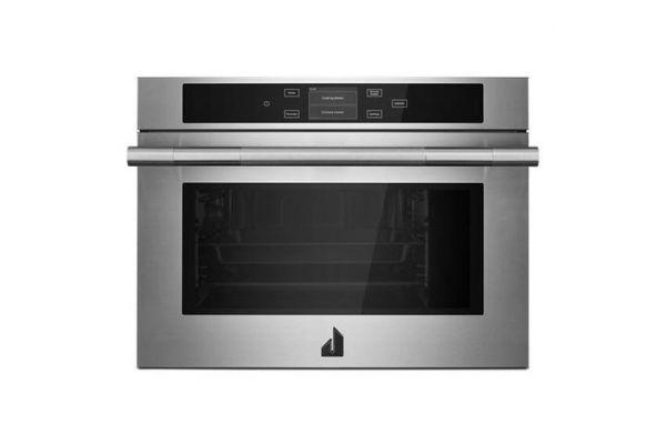 "Large image of JennAir RISE 24"" Stainless Steel Steam Oven - JJW6024HL"